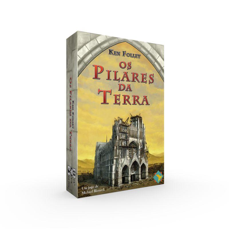 Os Pilares da Terra Jogo de Cartas Ludofy GRK0022  - Place Games