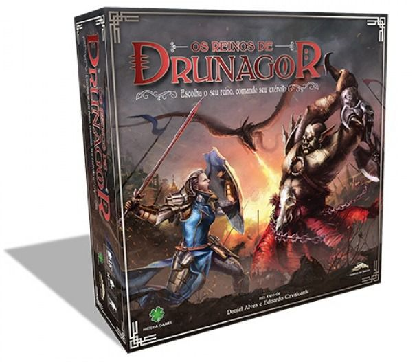 Os Reinos de Drunagor Jogo de Tabuleiro Histeria Games HS001  - Place Games