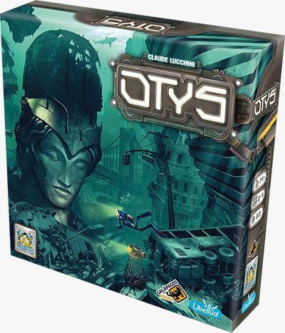 Otys Jogo de Tabuleiro Galapagos OTY001  - Place Games