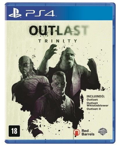 Outlast Trinity Playstation 4 Original Lacrado  - Place Games