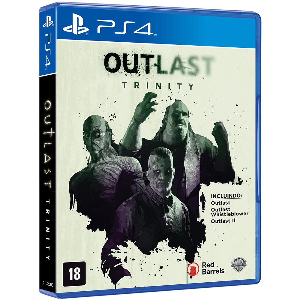 Outlast Trinity Playstation 4 Original Usado  - Place Games