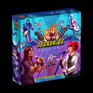 Overdrive A Batalha do Rock Jogo de Tabuleiro Sherlock SA SHE008  - Place Games