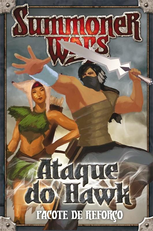 Summoner Wars Pacote de Reforços Ataque do Hawk Galapagos SUM203  - Place Games