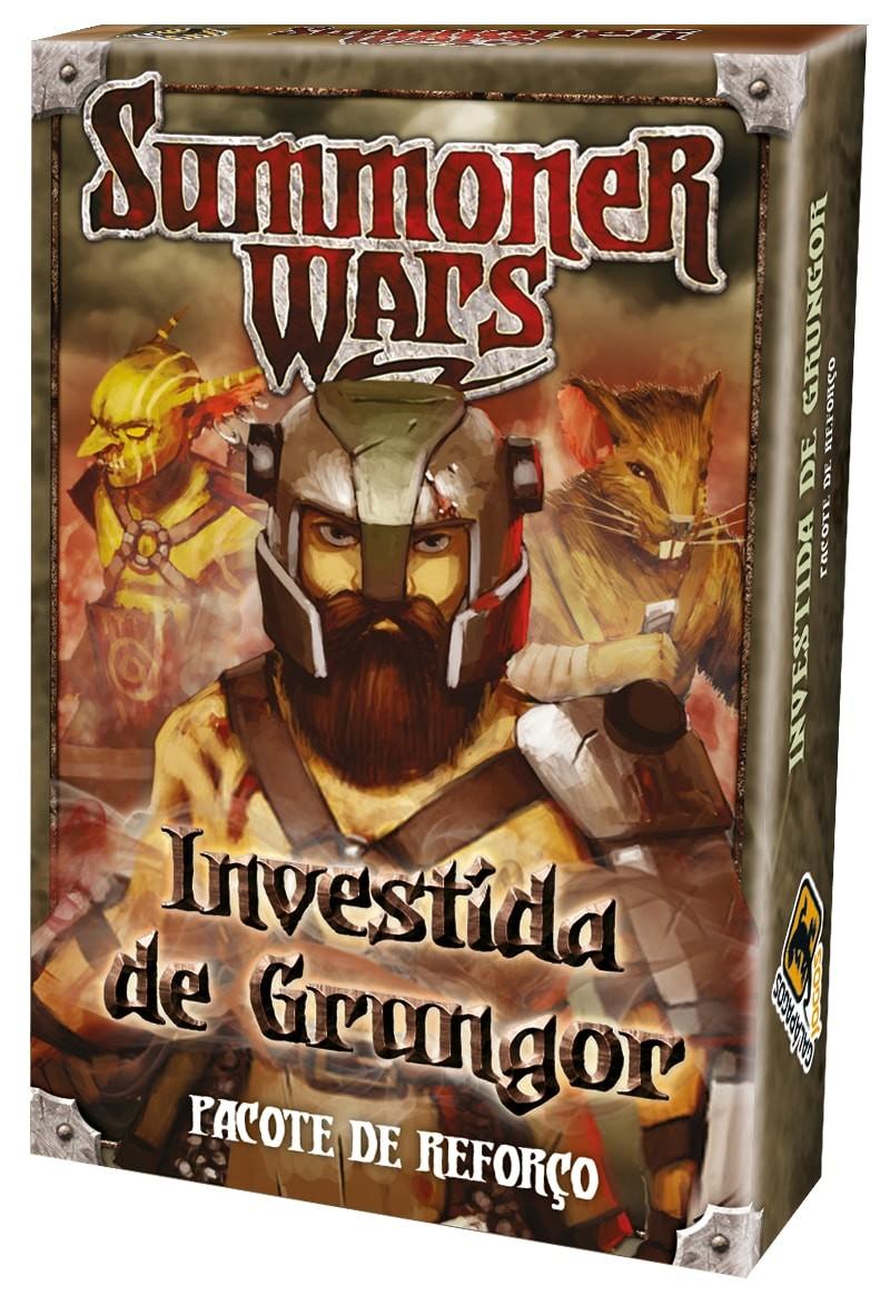 Summoner Wars Pacote de Reforços Investida de Grungor Galapagos SUM201  - Place Games