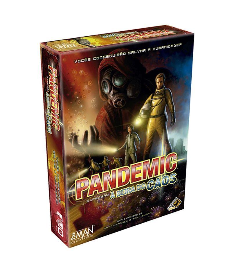 Pandemic A Beira do Caos Expansão de Jogo de Tabuleiro Galapagos PAN002  - Place Games