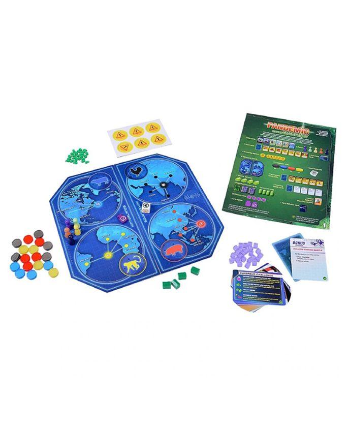 Pandemic Estado de Emergencia Expansão de Jogo de Tabuleiro Galapagos PAN003  - Place Games