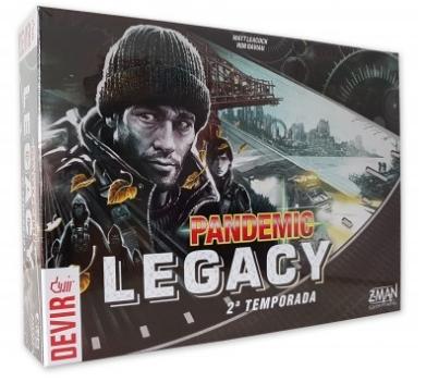 Pandemic Legacy Temporada 2 Jogo de Tabuleiro Devir BGPANNPT  - Place Games