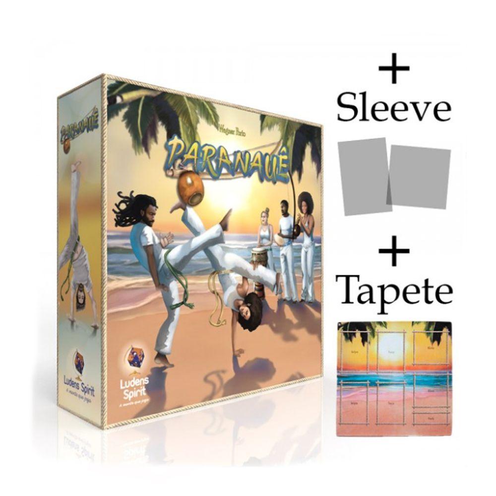 Paranauê + Sleeves + Tapete Jogo de Tabuleiro Ludens Spirit JLS024  - Place Games
