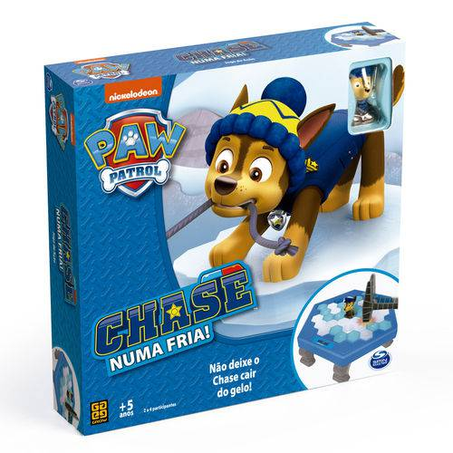 Patrulha Canina Chase Numa Fria Jogo de Tabuleiro Grow 3640  - Place Games