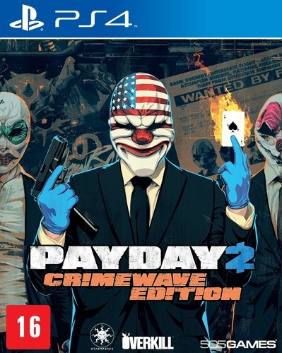 Payday 2 Crimewave Edition Playstation 4 Original Lacrado  - Place Games