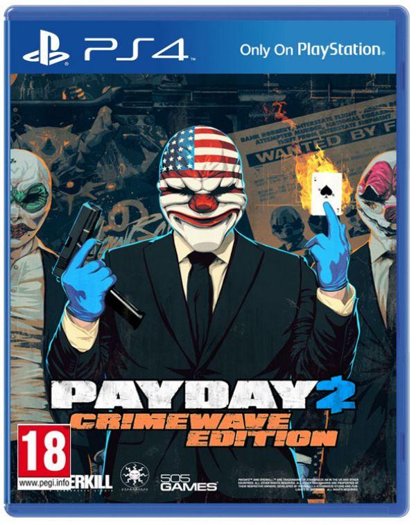 Payday 2 Crimewave Edition Playstation 4 Original Usado  - Place Games