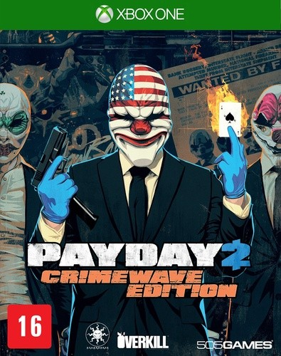 Payday 2 Crimewave Edition Xbox One Original Usado  - Place Games