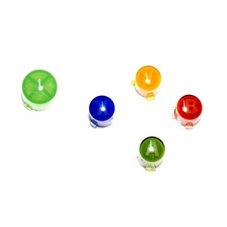 Peça De Reposição - 5 botões para Controles Xbox 360  - Place Games