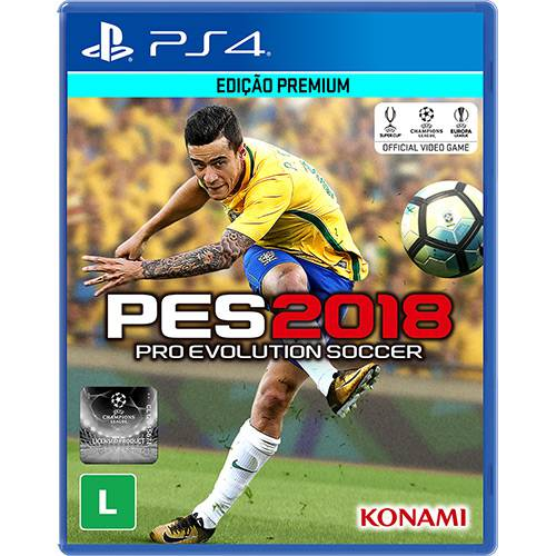 Pes 18 Playstation 4 Original Usado  - Place Games