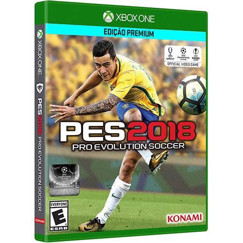 Pes 18 Xbox One Original Lacrado  - Place Games