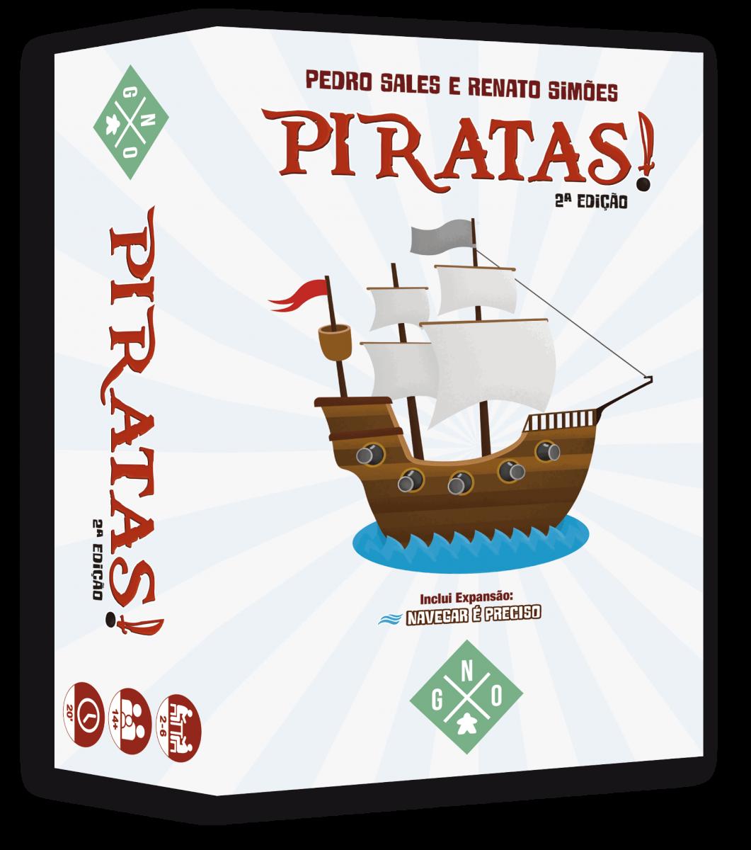 Piratas! + Expansão Navegar é Preciso Jogo de Cartas Geeks