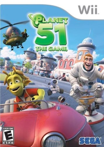 Planet 51 - The Game Wii Usado Original  - Place Games