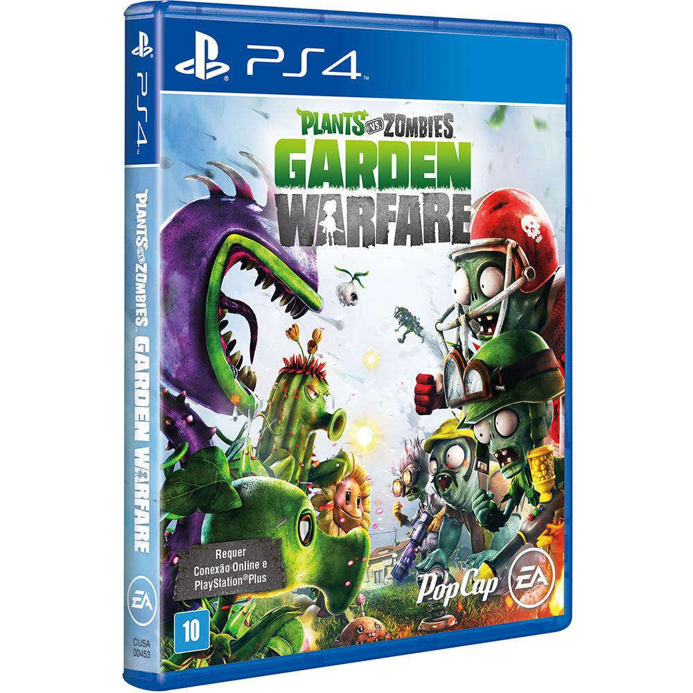 Plants vs Zombies - Garden Warfare Playstation 4 Original Usado  - Place Games