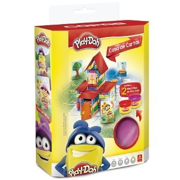 Play Doh Casa de Cartas 98349  - Place Games