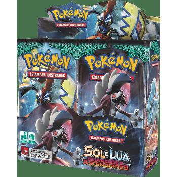 Pokemon Booster Sol e Lua Guardiões Ascendentes Caixa Master com 36un. Copag  - Place Games