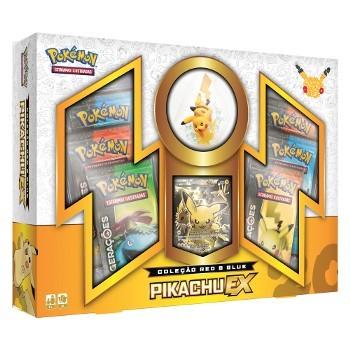 Pokemon Box Pikachu Gerações Copag  - Place Games