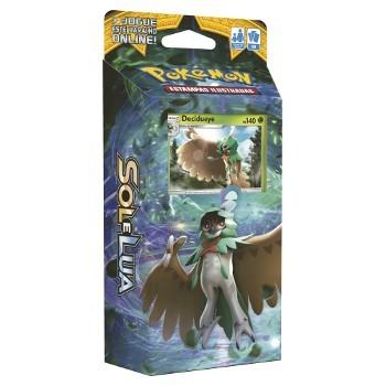 Pokemon Deck Sol e Lua Rugido Sombra Florestal Decidueye Copag 97431  - Place Games