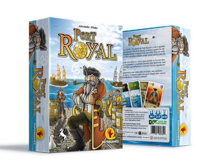 Port Royal Jogo de Cartas PaperGames J005  - Place Games