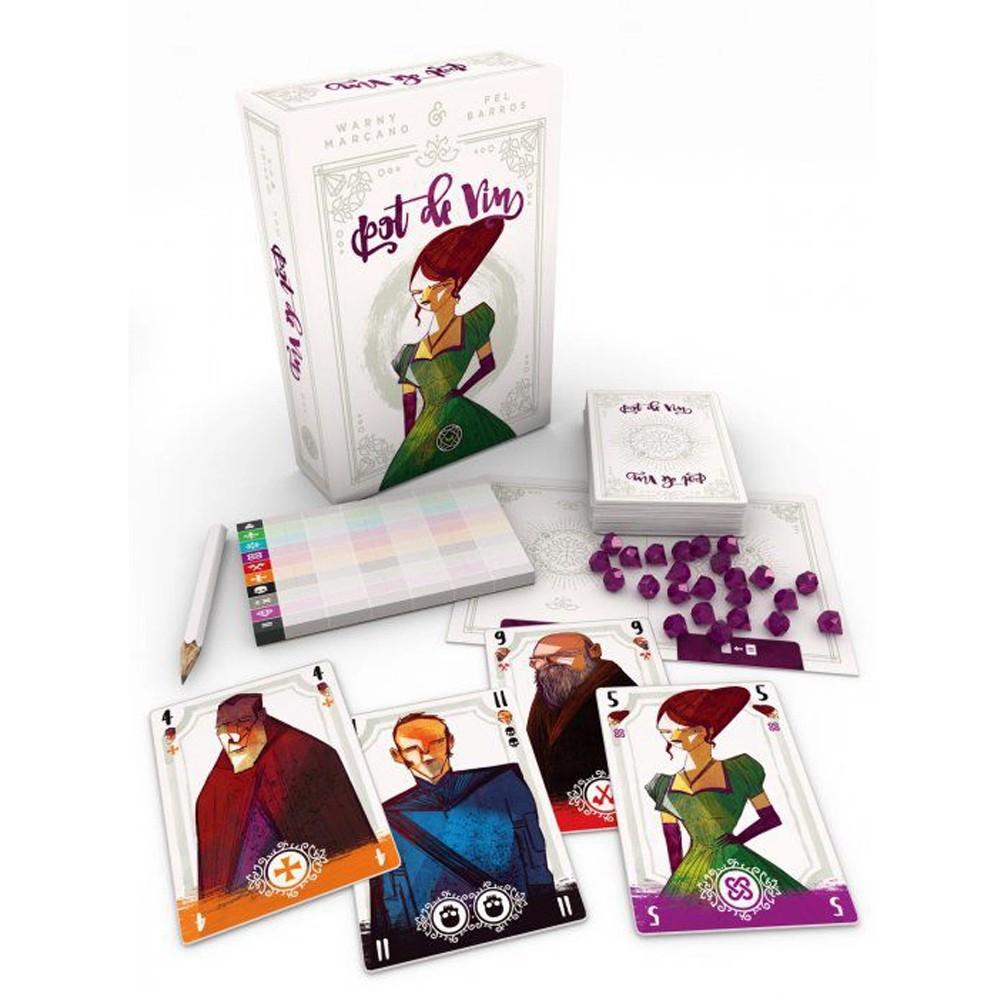 Pot de Vin Jogo de Cartas Mandala MDL0016  - Place Games