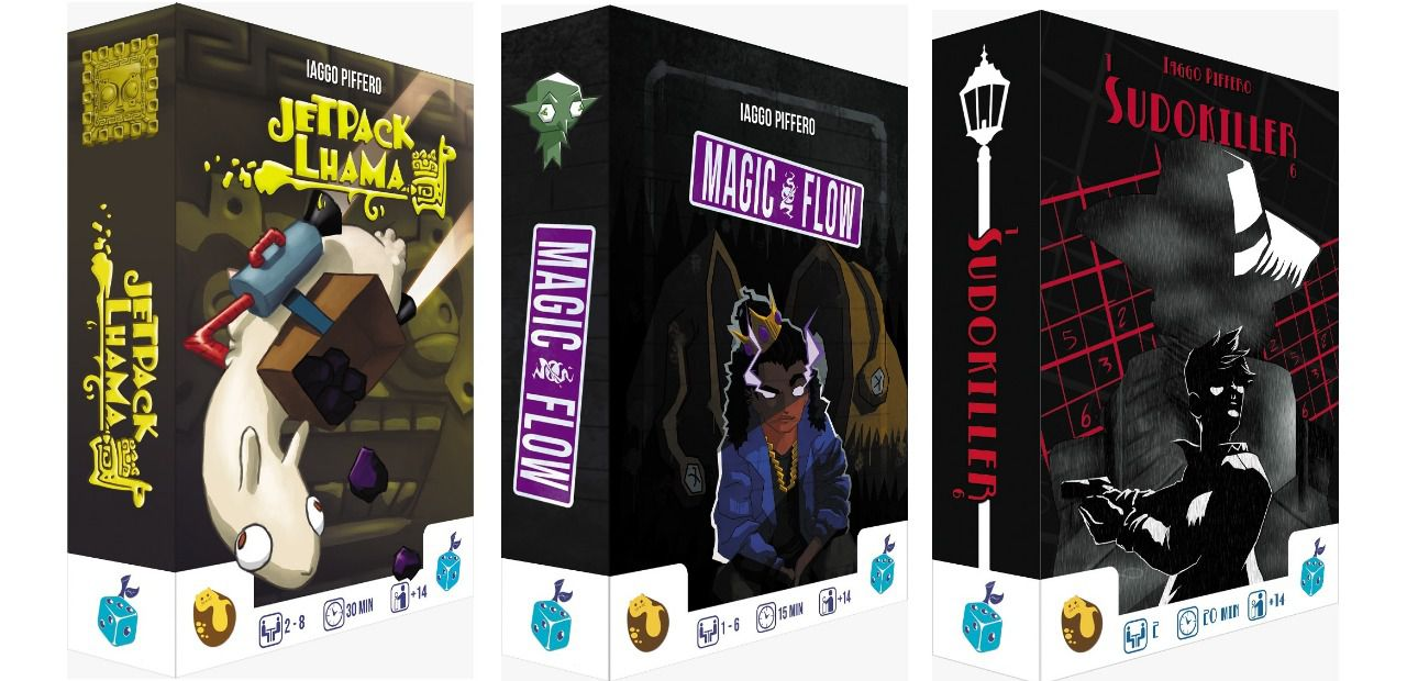 Potato Cat Pack 3 Games JetPack Lhama + Magic Flow + Sudokiller  - Place Games