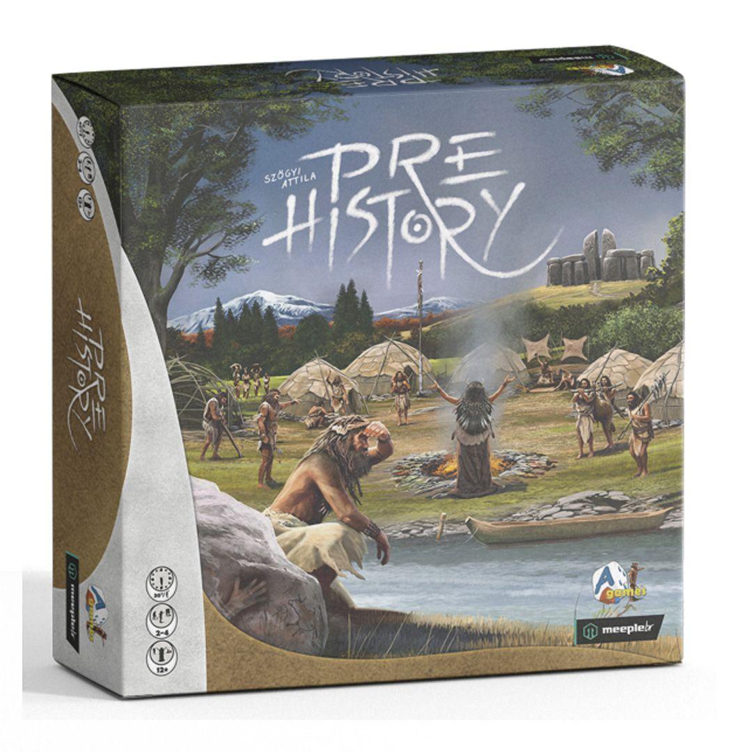 Pre History Jogo de Tabuleiro Meeple BR  - Place Games