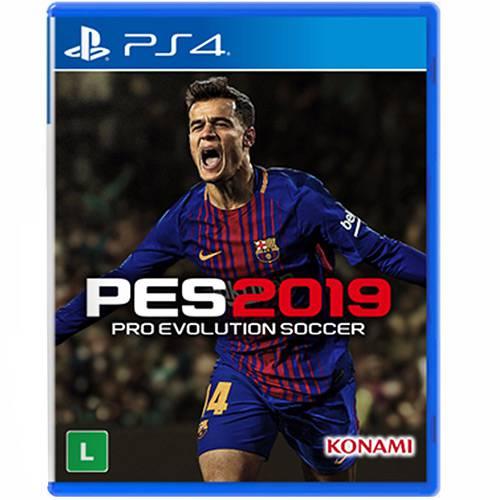 PES 19 Pro Evolution Soccer 2019 Playstation 4 Original Usado  - Place Games