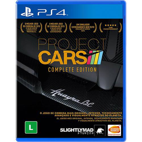 Project Cars Complete Edition Playstation 4 Original Usado  - Place Games