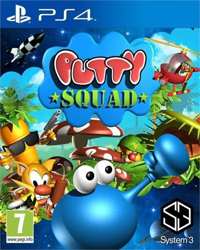 Putty Squad Playstation 4 Original Lacrado  - Place Games
