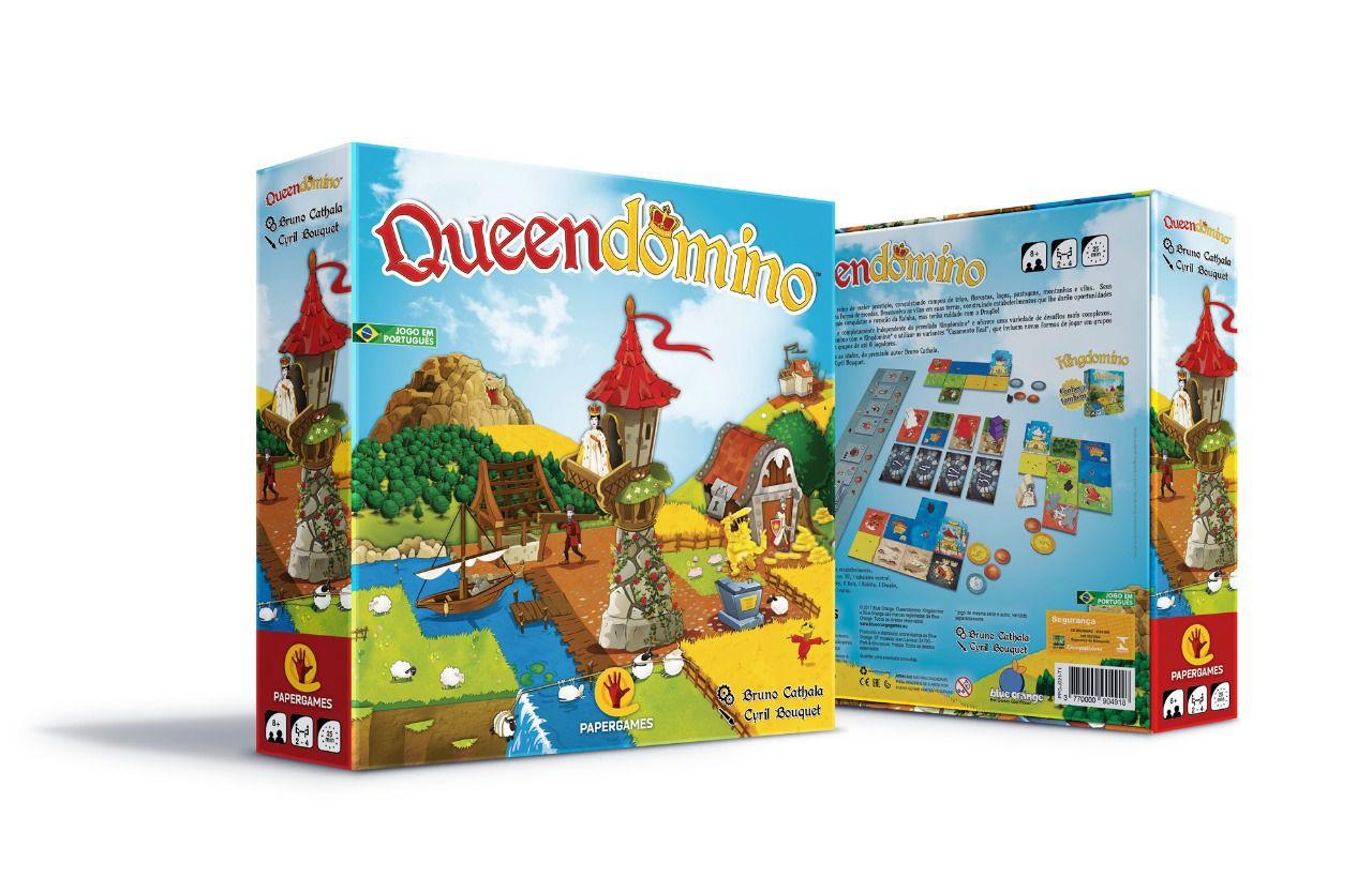 Queendomino Jogo de Tabuleiro PaperGames J021  - Place Games