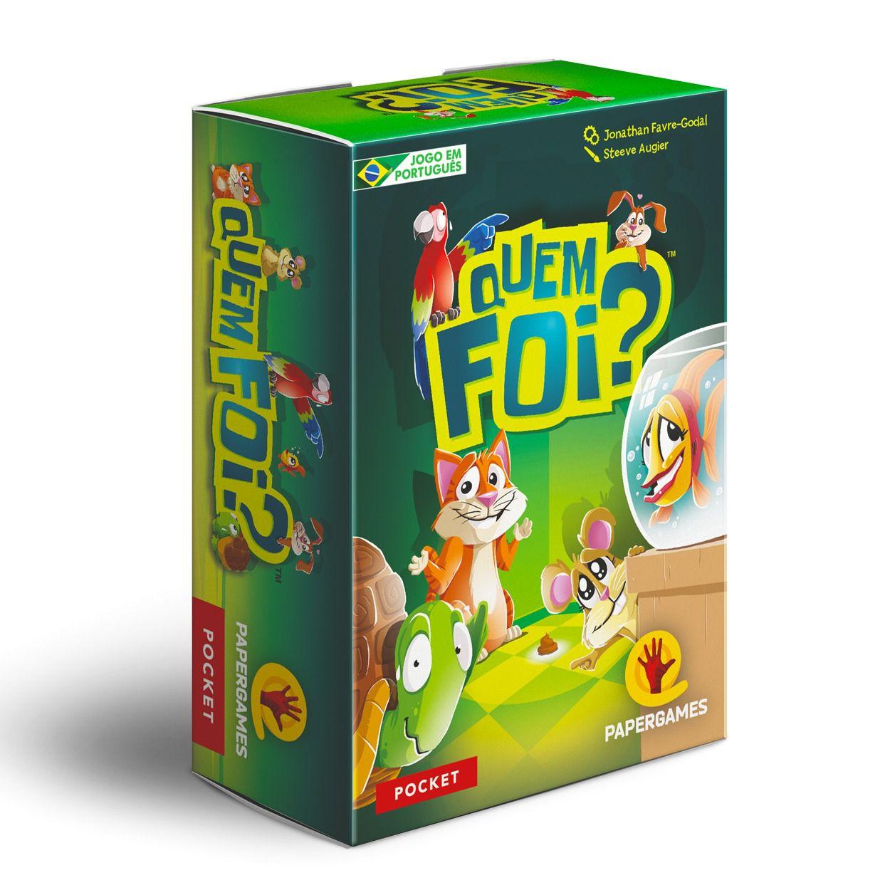 Quem Foi? Jogo de Cartas PaperGames J026  - Place Games