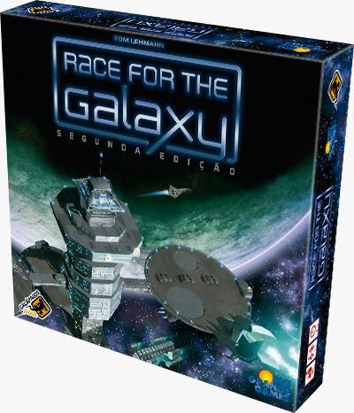 Race for the Galaxy 2a Edição Jogo de Tabuleiro Galapagos RFG101  - Place Games