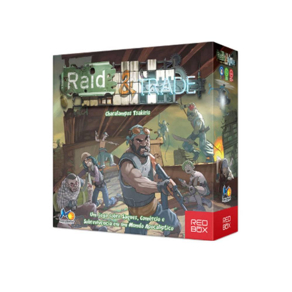 Raid & Trade jogo de Tabuleiro Red Box RBX10001  - Place Games