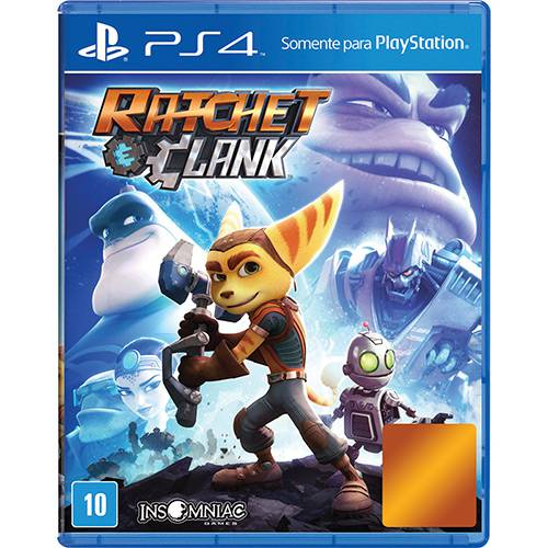 Ratchet and Clank Playstation 4 Original Lacrado  - Place Games