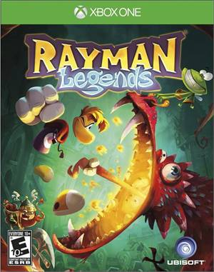 Rayman Legends Xbox One Original Lacrado  - Place Games