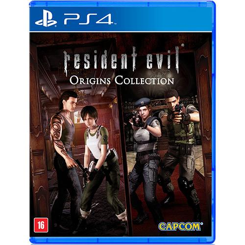 Resident Evil 0 - Origins Collection Playstation 4 Original Usado  - Place Games