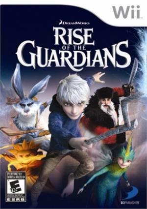 Rise of the Guardians Wii Usado Original  - Place Games