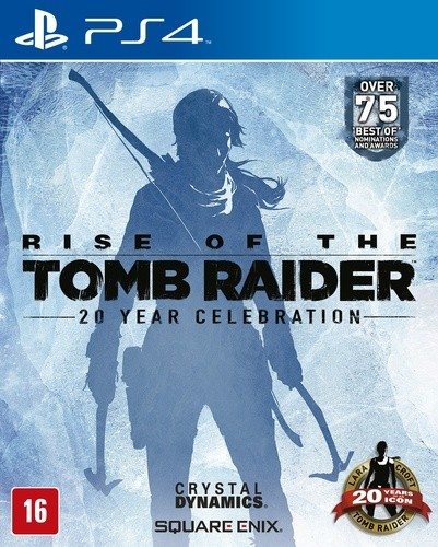 Rise of the Tomb Raider Playstation 4 Original Lacrado  - Place Games