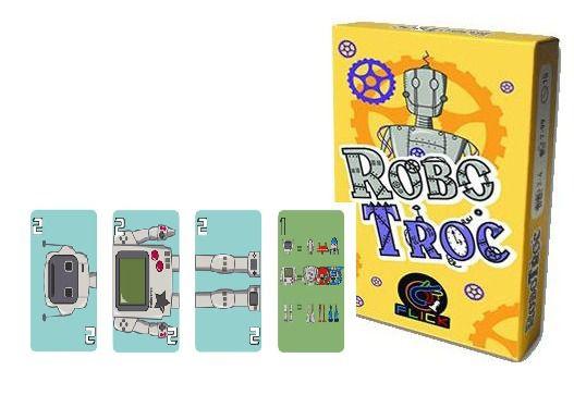 Robo Troc + Promo Game Robot Jogo de Cartas Flick Games  - Place Games