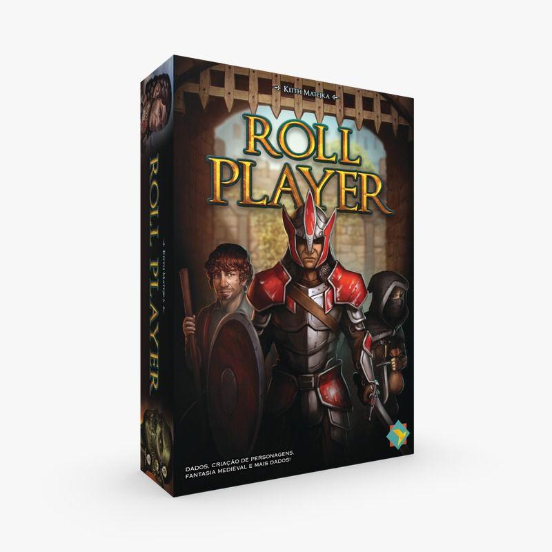 Roll Player Jogo de Tabuleiro Ludofy   - Place Games