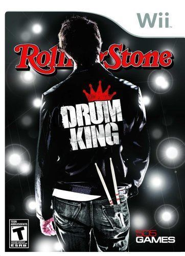 Rolling Stone Drum King Wii Usado Original  - Place Games