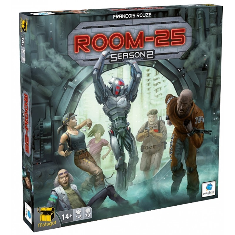 Room 25 Season 2 Expansão Jogo de Tabuleiro Conclave   - Place Games