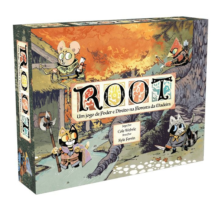 Root Jogo de Tabuleiro Meeple BR  - Place Games