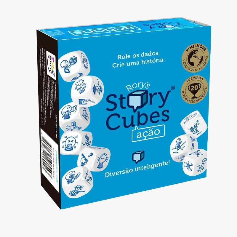 Rory Story Cubes Ação Jogo de Dados Galapagos RSC002  - Place Games