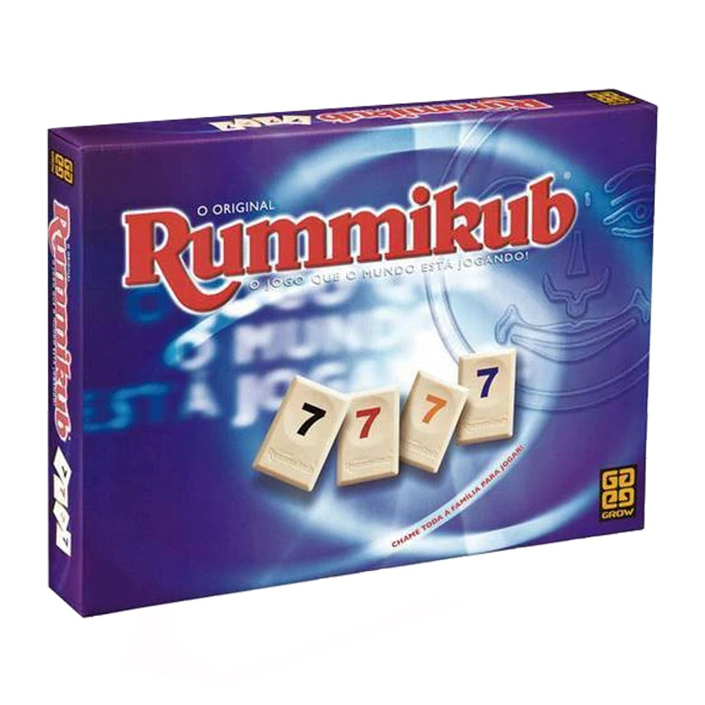 Rummikub Jogo de tabuleiro Grow 2090  - Place Games