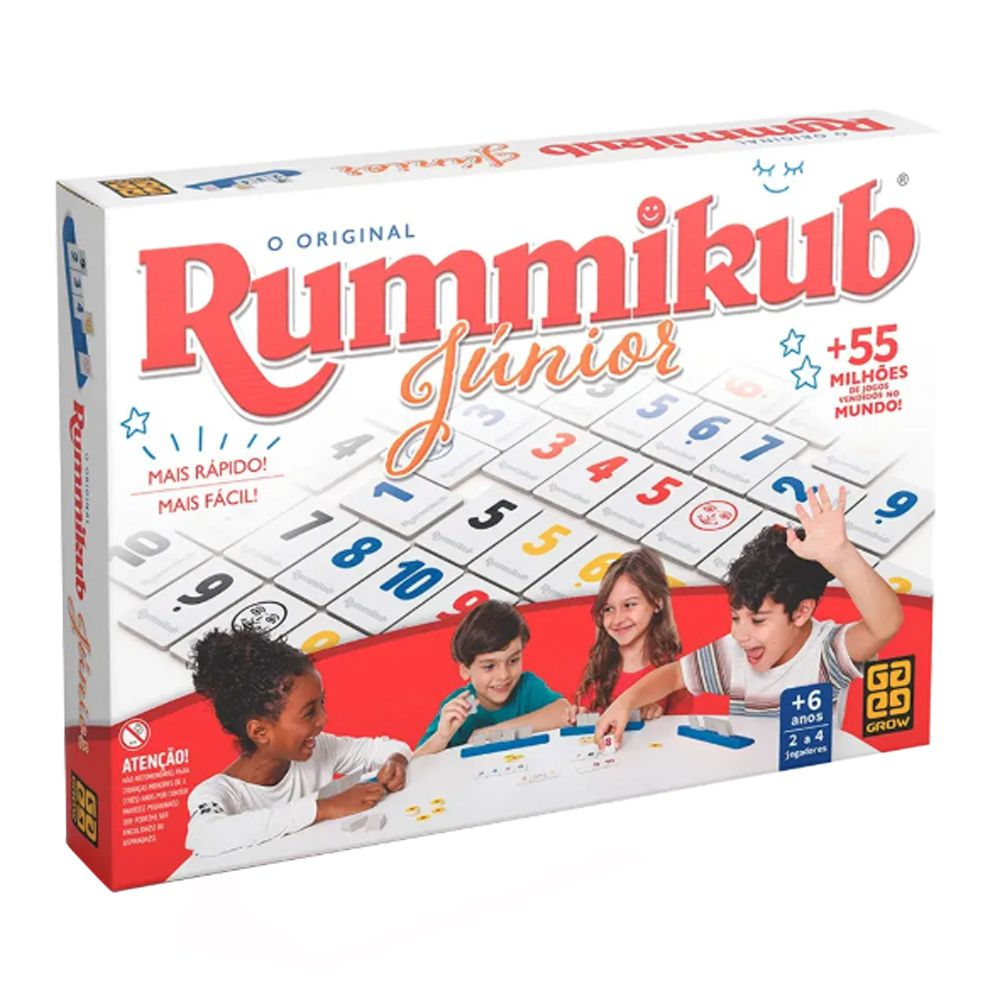 Rummikub Junior Jogo de tabuleiro Grow 03513  - Place Games